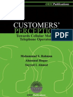 CUSTOMERS' PERCEPTION TOWARDS