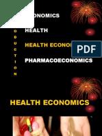 Health Economics Concept