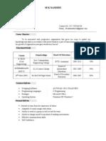 Nandu Resume