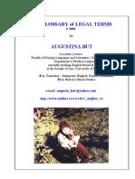 Dictionar Englez-Roman Legal Glossary