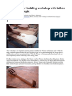 29031253 Classical Guitar Building Workshop With Luthier Curt Claus Voight
