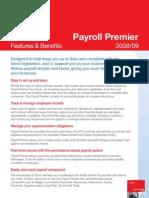 Reckon Payroll Premier 0809