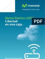Manual de Usuario Portal de Configuracion Web Home Station Adb Pdg a4001n