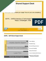 SSTPL Shared Desk Support Version 1.0