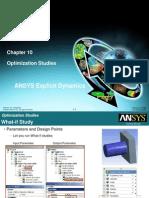 Explicit Dynamics Chapter 10 Optimization Studies