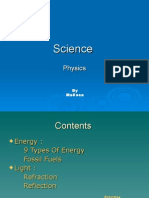 Science Physics by Meli Ssa Contents  Energy :