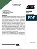 AVR335 - Digital Sound Recorder