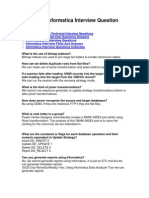 Accenture Informatica Interview Question Answers