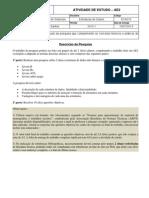 AE2 EDA EXA010 Prof.ronaldo Candido