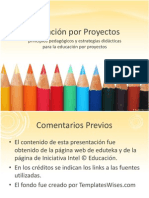 Aprendizaje Por Proyectos