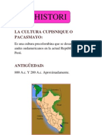 La Cultura Cupisnique o Pacasmayo