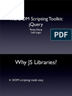 The DOM scripting toolkit