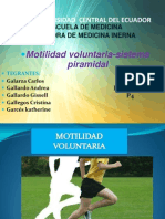 Motilidad Voluntaria Sist Piramidal EXPOSICION COMPLETA