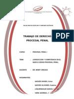JURISDICCIÓN Y COMPETENCIA EN EL PROCESO PENAL PERUANO