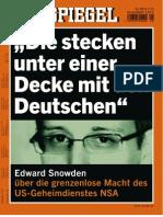 Der Spiegel 28-2013 - Nur Der SNOWDEN Und NSA Part