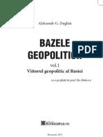 Alexandr Dughin - Bazele Geopoliticii