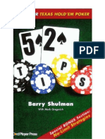 52 Tips for Texas Hold Em Poker - Barry Shulman
