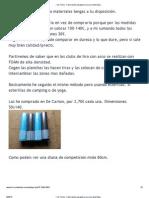 • Ver Tema - Fabricación parapeto arco (con esterillas)
