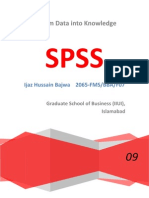 Statistical Infernece, Corelation SPSS Report