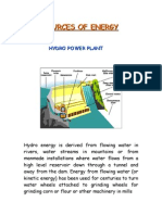 Sources of Energy1
