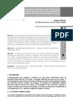 VRHOVAC (2009) La Position Des Langues Etrangeres Et de La Didactique Du FLE Dans Les Programmes d'UNIZG(1)