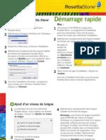 242.Rosetta Stone v3 - Quick Start Guide - French