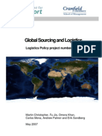 RR8 Global Sourcing and Logistics Report