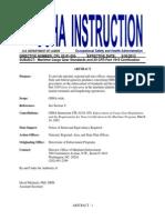 OSHA's Field Operations Manual