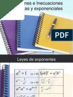 Ecuaciones Exponenciales y Logartimicas UCV