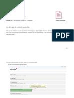 Guía utilización de plantillas de validacion
