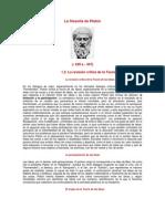 La filosofía de Platón en webdianoia