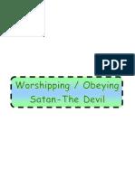 Obeying Satan-(the Devil)