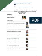 Propuesta de Capacitación - Grupo N°13