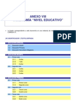 a08 Taxonomia Nivel Educativo