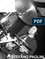 PDF Drum Book - (Drum-lesson) - Stefano Paolini - Fills & Grooves for Drums - By Hmd