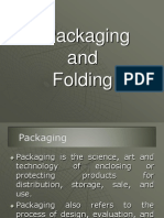 Packaging & Folding Class