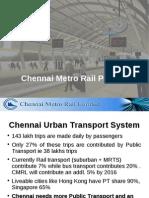 Chennai Metro PPT