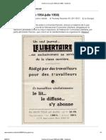 Qué fue la ICL (junio 1954-julio 1958) - Anarkismo
