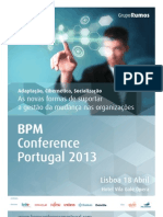 BPM Conference Portugal 2013 - Leaflet