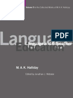 Halliday - Language and Education.pdf
