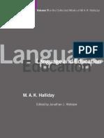 Halliday - Language and Education.pdf