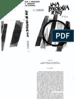 E.cerda. Una Psicologia de Hoy.cap 1 Al 4