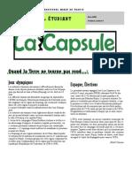 La CAPSULE - Mars - 2008