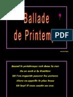 Ballade Du Printemps