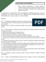 RESOLUÇÃO TÉCNICA Nº 004_CCB_BM_2003.