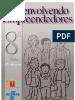 Jovens Empreendedores Primeiros Passos - 8ª Série - Manual do Professor