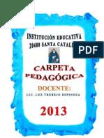 CARPETA PEDAGÓGICA - LUZ_TREBEJO