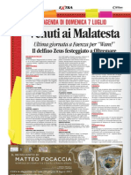 7.7.2013' , 'Cervia, Mostra Liberty', Corriere Di Romagna