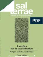 Revista Sal Terrae 2003 no. 2