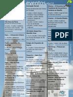 Agenda de eventos.jul'13